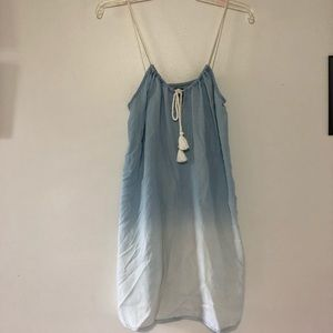 Aerie ropy strap hombre light blue-white top